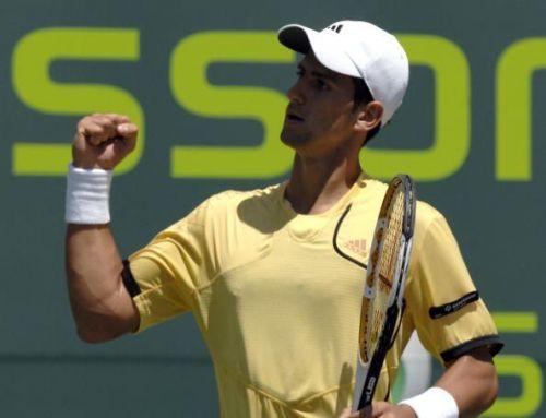 Djokovic celebrates his 1st Masters 1000 title at 2007 Miami