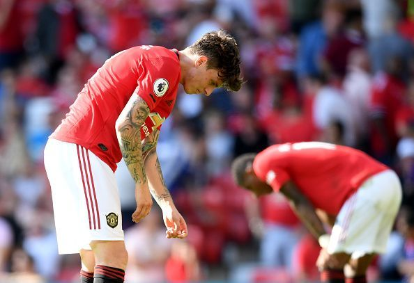 Manchester United fell to a shock defeat at home against Crystal Palace