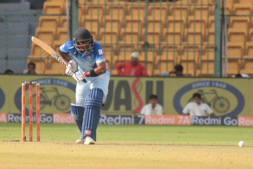 Abhishek Reddy's composed unbeaten 62 helped the Tuskers claim a comfortable win