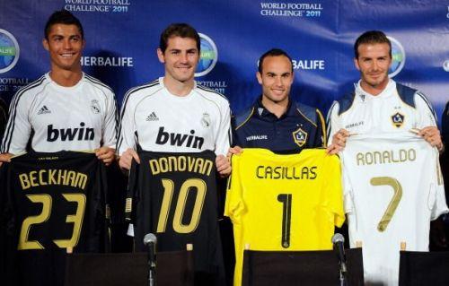 2011 World Football Challenge Press Conference