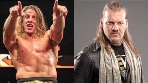 The Twitter feud between Matt Riddle and Chris Jericho has grown personal in recent weeks.