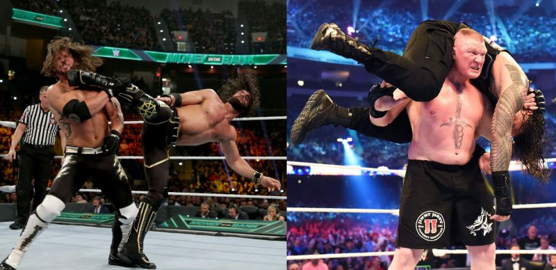 Seth Rollins and AJ Styles delivered at this year's Money in the Bank, whilst the WrestleMania 34 Lesnar-Reigns rematch failed to live up to the hype.