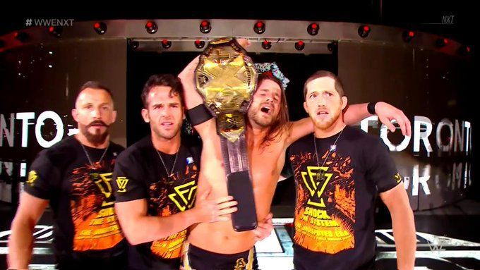 While Adam Cole succeeded in defending his title at TakeOver, the rest of the UE failed