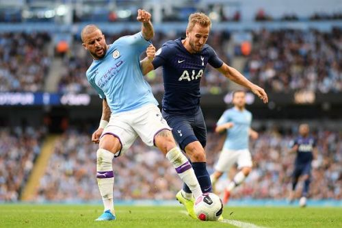 Kane failed to get anything going against Manchester City