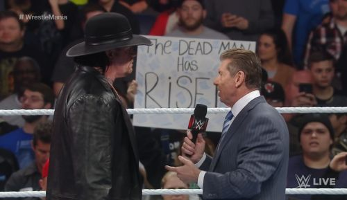 Taker and Vince