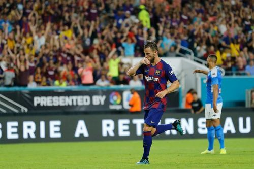 Ivan Rakitic scored the winning goal of the game
