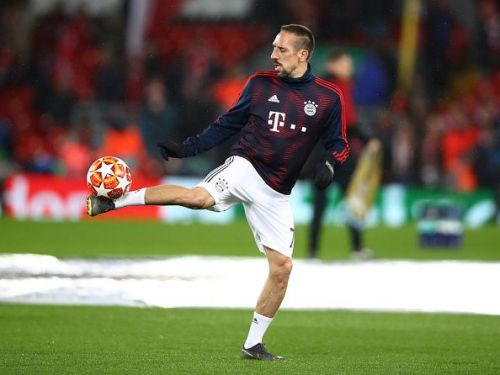 Franck Ribery of Bayern Munich is the only player to win 9 Bundesliga titles