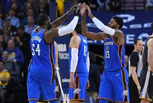 Patrick Patterson previously teamed up with Paul George for the Oklahoma City Thunder