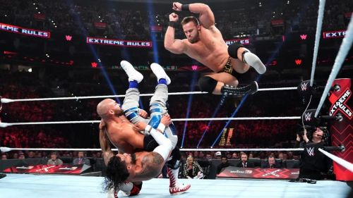 The Usos engaged in an absolute thriller of a match against The Revival at Extreme Rules this July