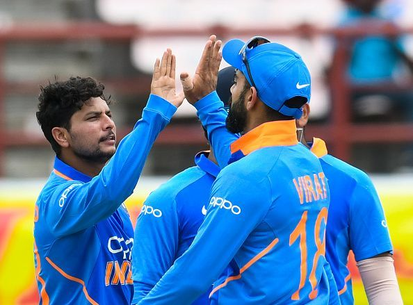 भारत-वेस्टइंडीज के बीच पहला मुकाबला रद्द हो गया था