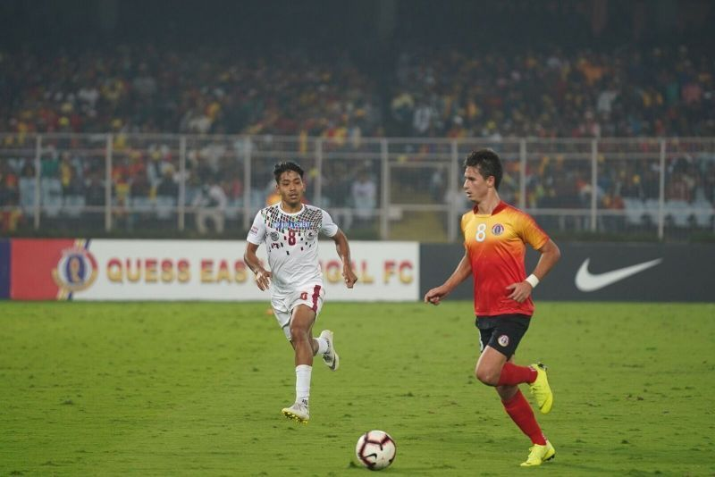 Santos stole the limelight against Army Red