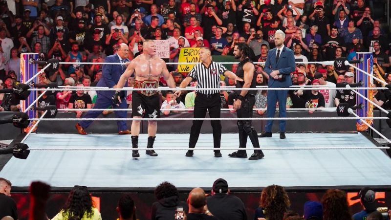 Seth Rollins became the third superstar in WWE history to defeat The Beast Incarnate, Brock Lesnar, twice