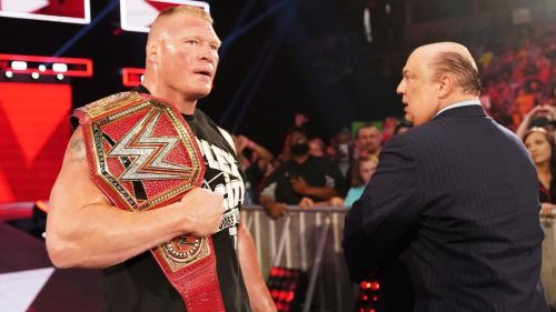 Brock Lesnar and the Universal Championship