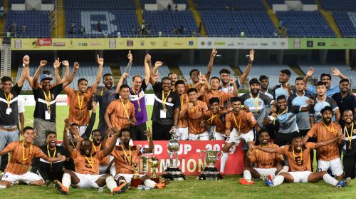 Gokulam Kerala FC claimed their maiden Durand Cup title