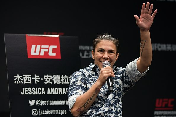 UFC Shenzen: Jessica Andrade talks about her fight with Rose Namajunas, the slam, and her upcoming fight against Zhang Weili (Exclusive)