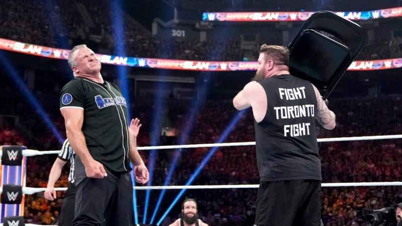 Despite beating McMahon, Owens still has to deal with him on SmackDown.