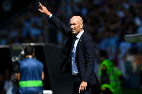 Zidane should work on visible flaws.