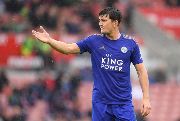Harry Maguire has joined the red half of Manchester in a record-breaking deal