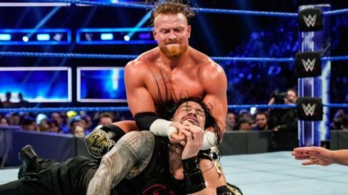 Buddy Murphy faced Roman Reigns in an epic brawl on SmackDown Live