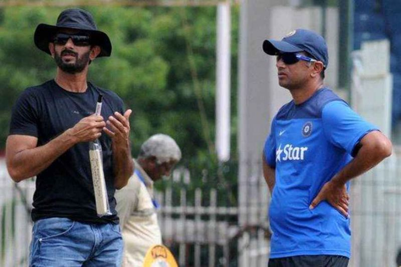 Ex-selector Vikram Rathour was appointed as the new batting coach