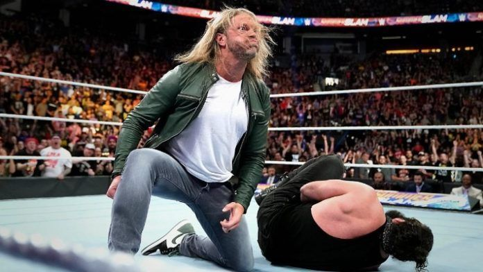 Edge shocked the world when he speared Elias at SummerSlam