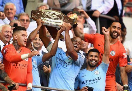 Manchester City won last year's Community Shield.