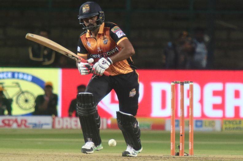Hubli skipper Vinay Kumar top-scored with 81