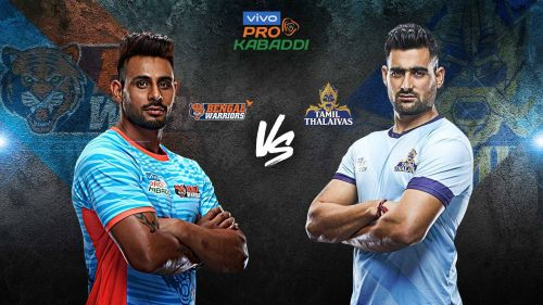 Tamil Thalaivas look to even their head to head record against Bengal Warriors tonight.