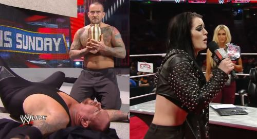 Punk and Paige, taking it too far