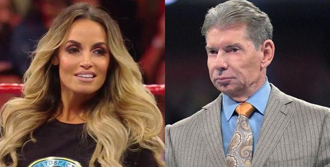 Trish and Vince McMahon