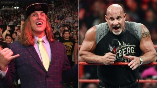Matt Riddle vs Goldberg possibly in the works