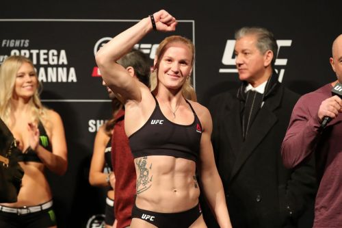 Valentina Shevchenko could develop into a dominant champion at 125lbs