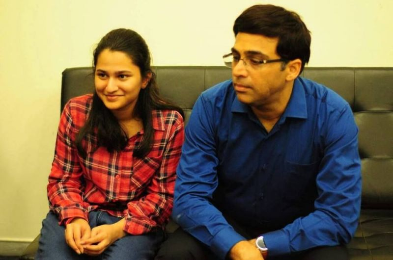 With the Indian Tiger himself! Source: Chessbase India Playing for my flag! Source: Google Images