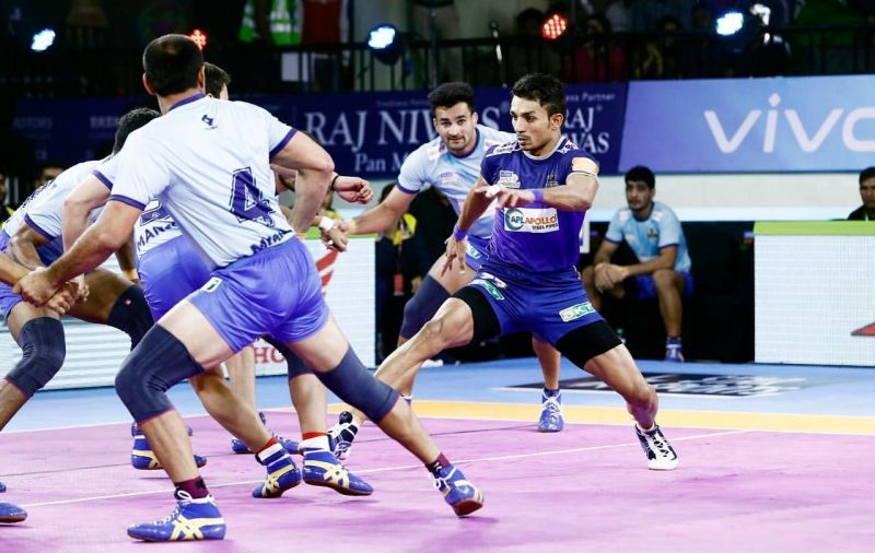 Young Vikash was highly impressive in two matches he played