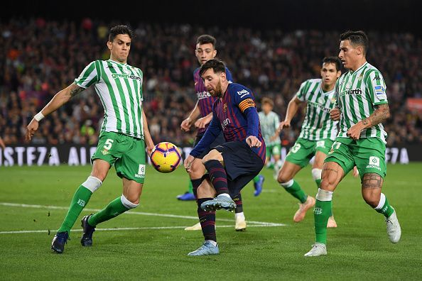 Real Betis will be hoping to get their second susuccessive win at Camp Nou