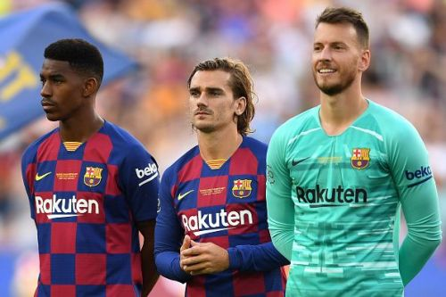 FC Barcelona secured their first win of the new La Liga season against Real Betis over the weekend.