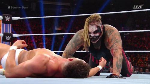 The Fiend made an explosive debut at SummerSlam