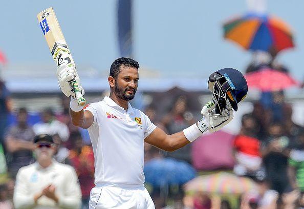 दिमुथ करुणारत्ने ने 122 रनों की बेहतरीन पारी खेली