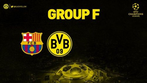Barcelona and Borussia Dortmund have been drawn in Group F