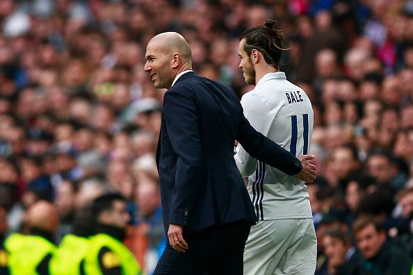 Zinedine Zidane and Gareth Bale relationship had reached a new low couple of weeks ago.