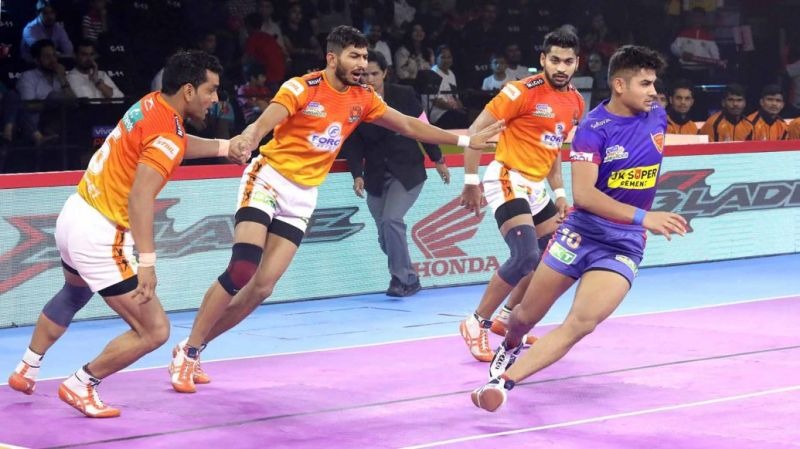 Naveen Kumar had scored 11 raid points against Puneri Paltan
