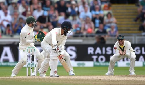 Ali looked all at sea during the heavy defeat to Australia