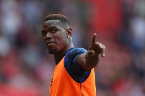 Paul Pogba has failed to recover in time to appear against Leicester City. League