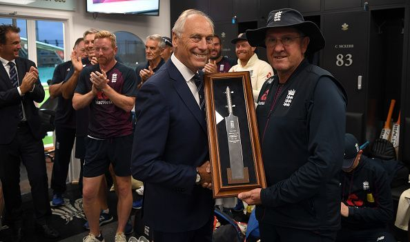 Trevor Bayliss has called time on his four-year reign as England coach