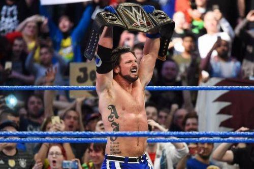 जिंदर महल को हराकर एजे स्टाइल्स दूसरी बार WWE चैंपियन बने