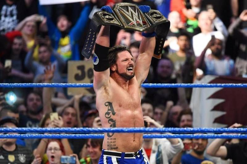 AJ Styles captured his second WWE Championship after defeating Jinder Mahal.