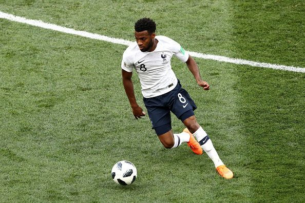 Thomas Lemar impressed in the middle of the park