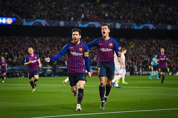 FC Barcelona in the Champions League