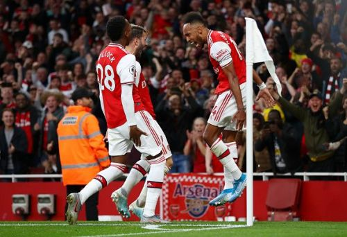 Arsenal showed great determination in the second half.