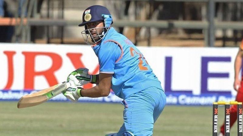 Faiz scored an unbeaten fifty on his ODI debut